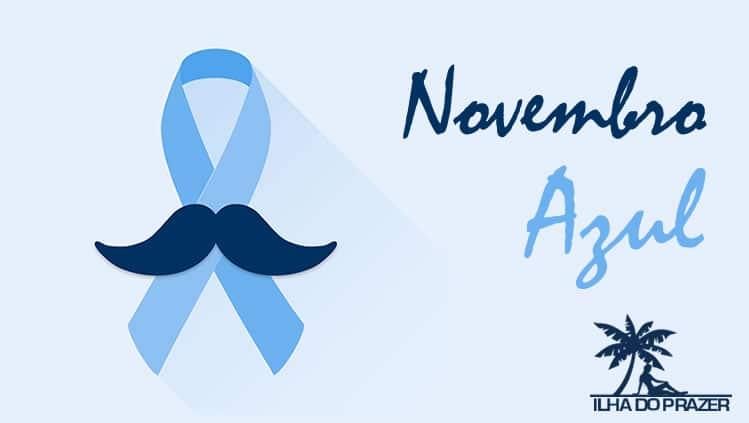 Novembro azul, previna-se contra o câncer de próstata